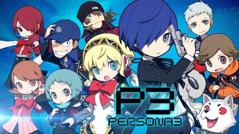 Persona Q2: New Cinema Labyrinth équipe persona 3
