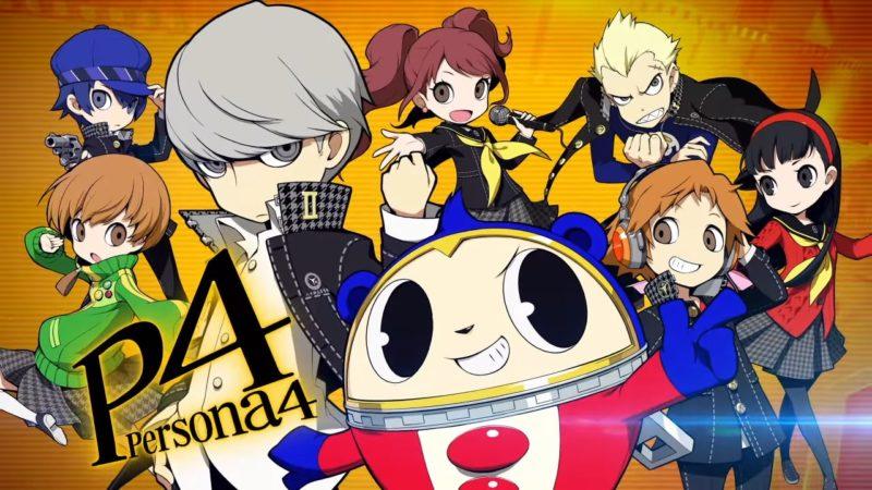 Persona Q2: New Cinema Labyrinth équipe Persona 4