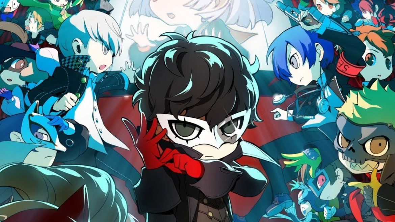 Persona Q2: New Cinema Labyrinth key art