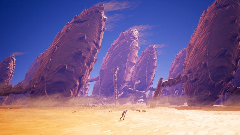 Planet Alpha Habitation Désert