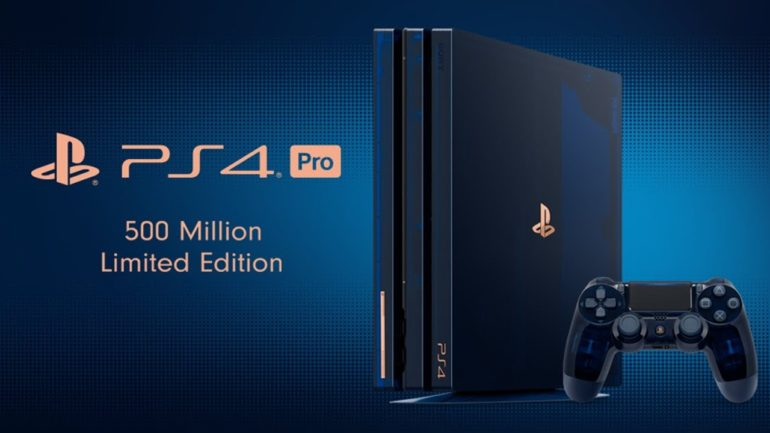 PlayStation 4 Pro 500 Millon Limited Edition