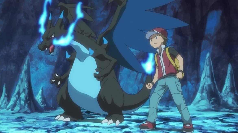Pokémon Origine - Red et Méga-Dracaufeu X