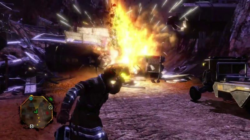 Red Faction Guerrilla Re-Marstered - quand ton coeur fait boum