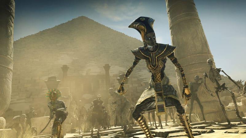 Strange Brigade Egyptien Zombie Pyramide