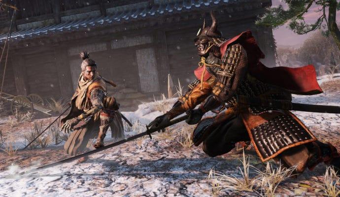 Sekiro: Shadows Die Twice > scène de combat