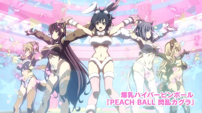 Peach Ball: Senran Kagura - clickbait pour furry et fans de hentai