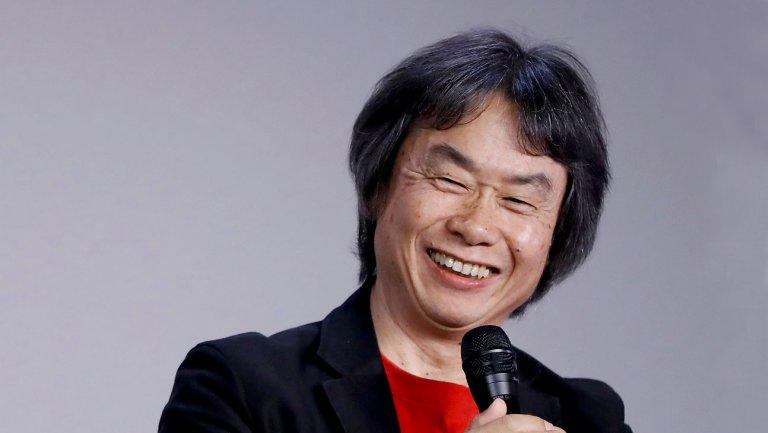 Shigeru Miyamoto en conférence