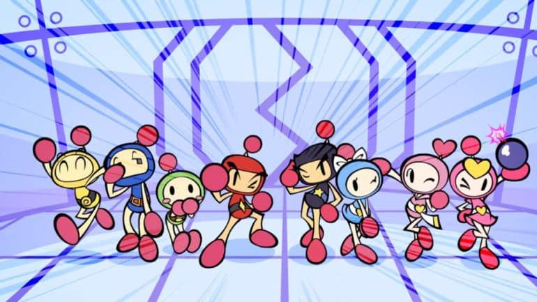 Super Bomberman R - Casting original
