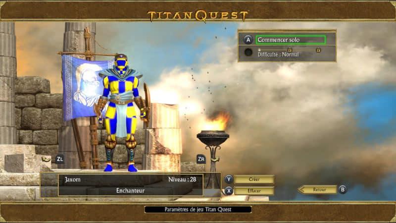Titan Quest - Damier-Man