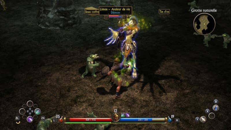 Titan Quest - mange vie