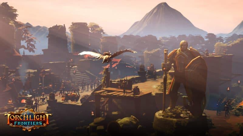 Torchlight Frontiers : paysage du jeu