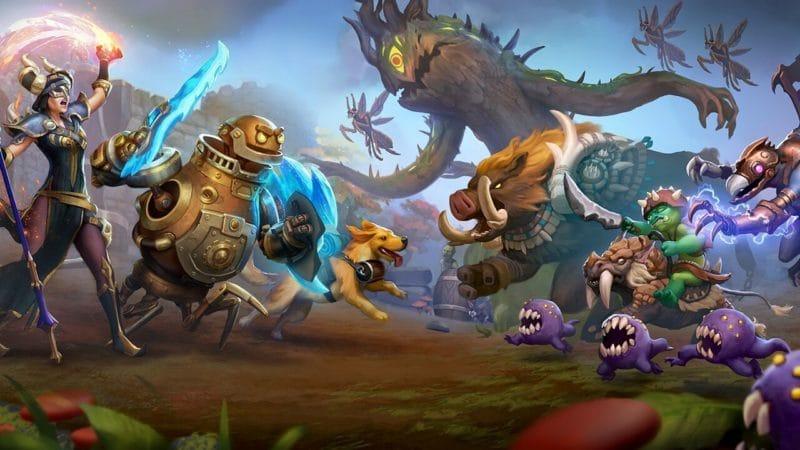 Torchlight Frontiers : aperçu des créatures et personnages du jeu.