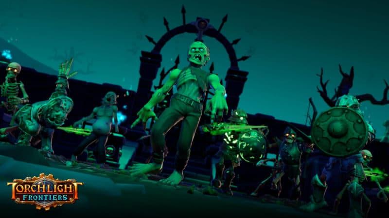 Torchlight Frontiers : attaque de zombies !