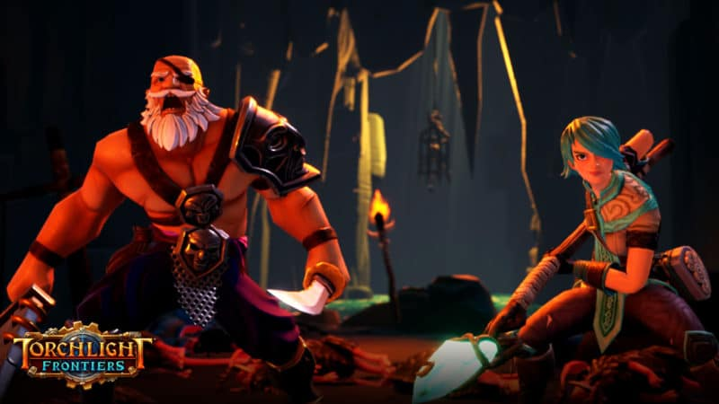 Torchlight Frontiers : personnages jouables