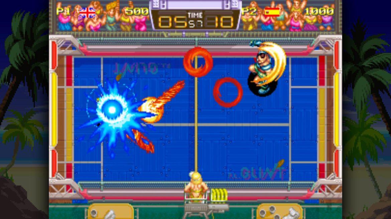 windjammers: match versus