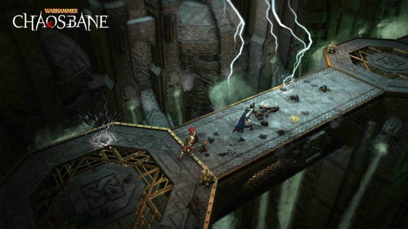 Warhammer Chaosbane pont orage