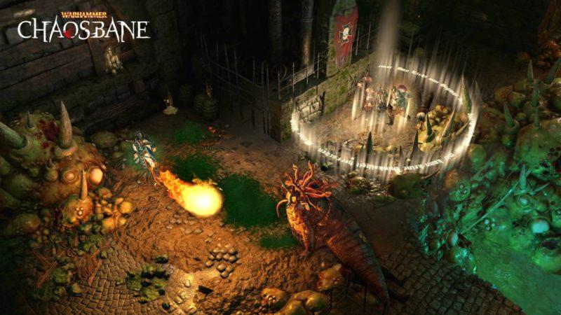 Warhammer Chaosbane combat magie