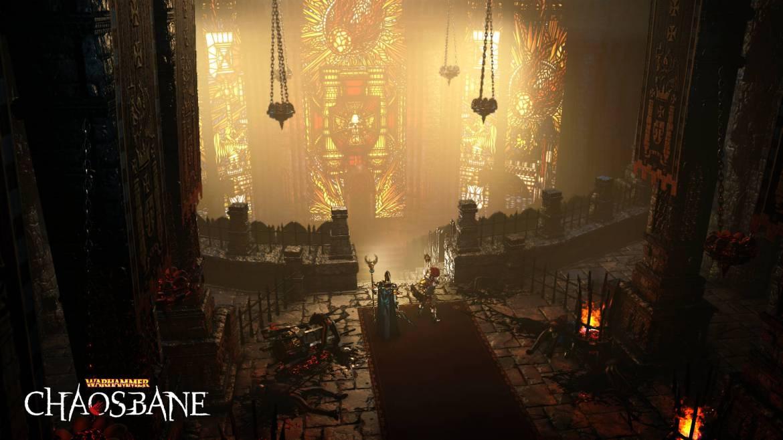 Warhammer Chaosbane Vitrail Eglise