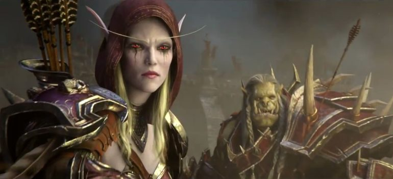 World of Warcraft : Battle for Azeroth sylvanas