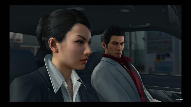 Yakuza Kiwami 2 Kiryu et Kaoru