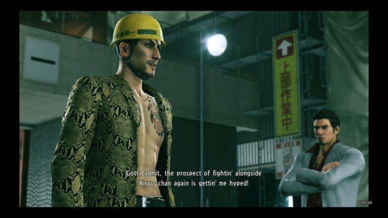Yakuza Kiwami 2 Le retour de Majima