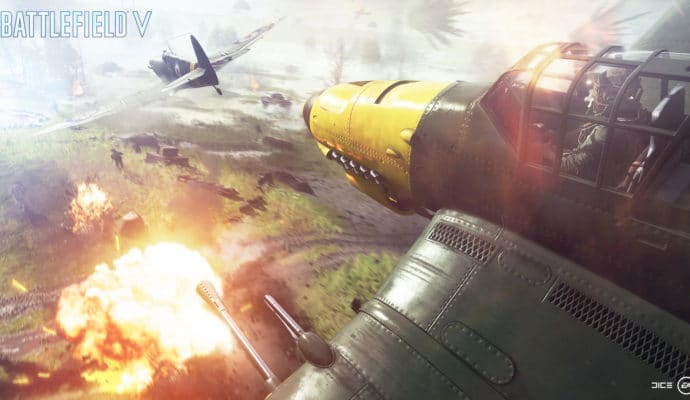 battlefield 5 : avion de guerre