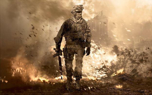 call of duty: modern warfare 2 soldat