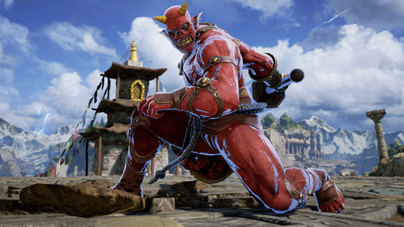 Soul Calibur VI personnage créé joueur rouge