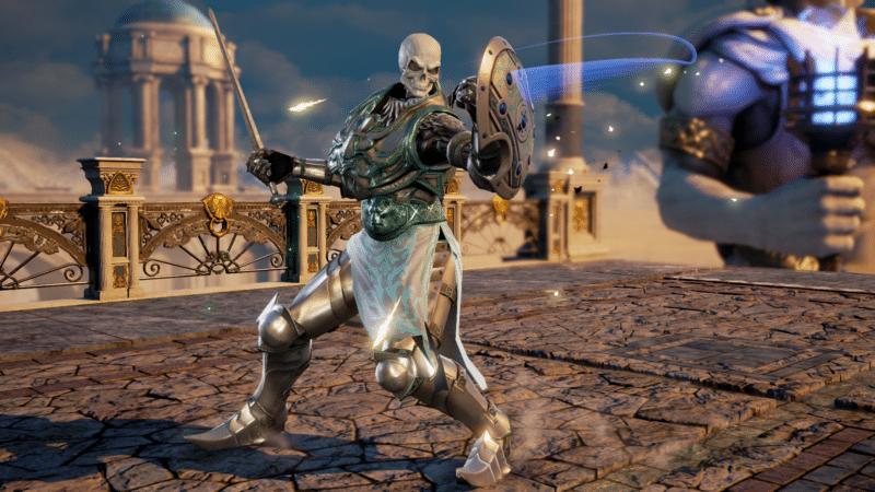 Soul Calibur VI personnage créé joueur squelette