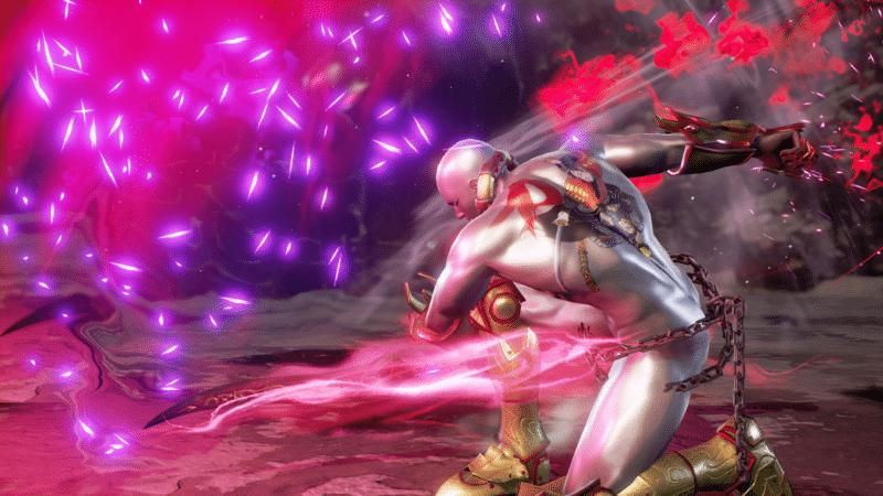 Soul Calibur VI personnage créé joueur attaque