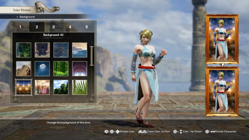 Soul Calibur VI création personnage