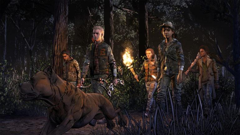 The Walking Dead Final Season Groupe