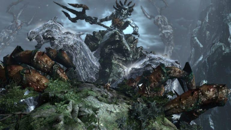 PlayStation Plus God of War 3 remastered combat poséidon