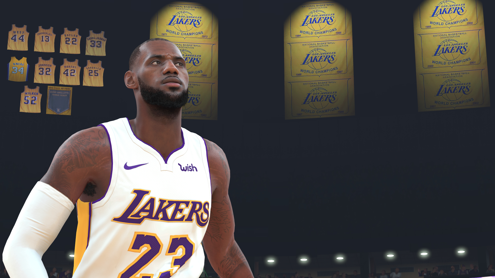 nba 2k19: lakers lebron james
