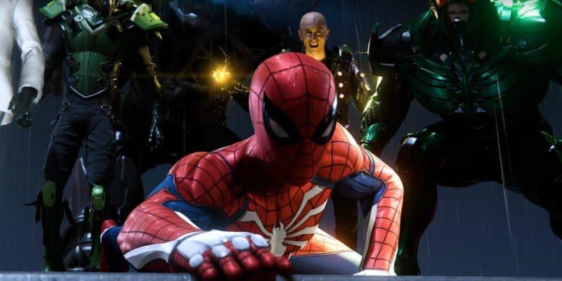 Marvel's Spider-Man Spider-Man en mauvaise posture