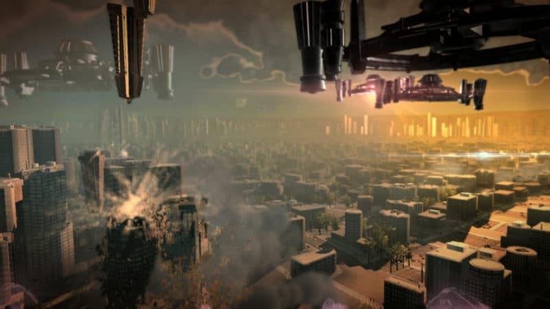 Megaton Rainfall assaut alien