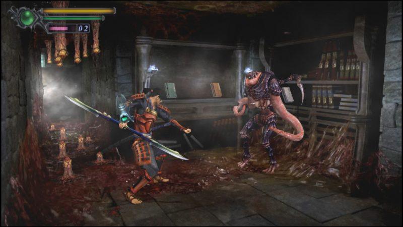 onimusha warlords hd combat lance