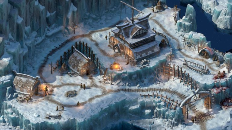 Pillars of Eternity 2 Beast of Winter village de glace