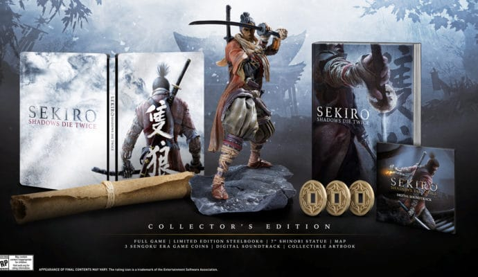 sekiro shadows die twice: edition collector