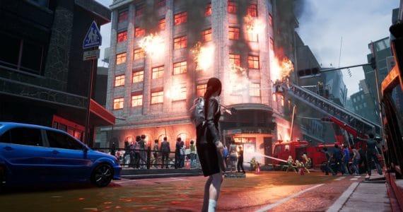 SOS The Final Escape 4 Plus: Summer Memories immeuble en feu