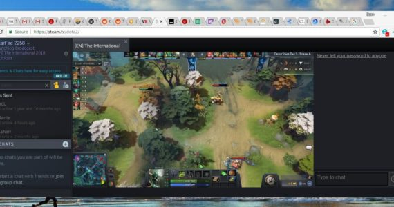 Steam.tv : streaming Dota