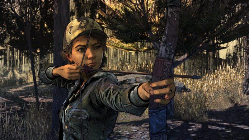 The Walking Dead Final Season tir à l'arc