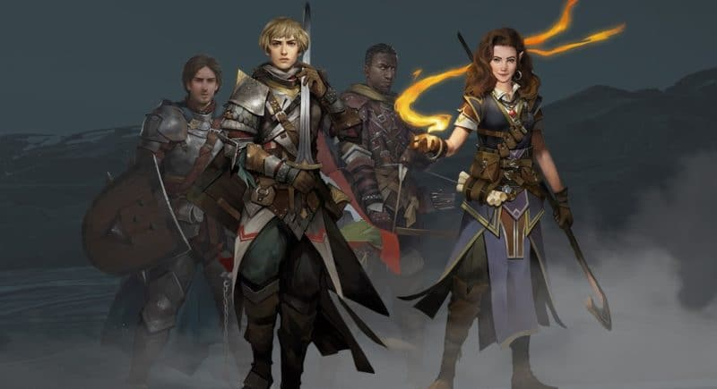 pathfinder: kingmaker chara-design