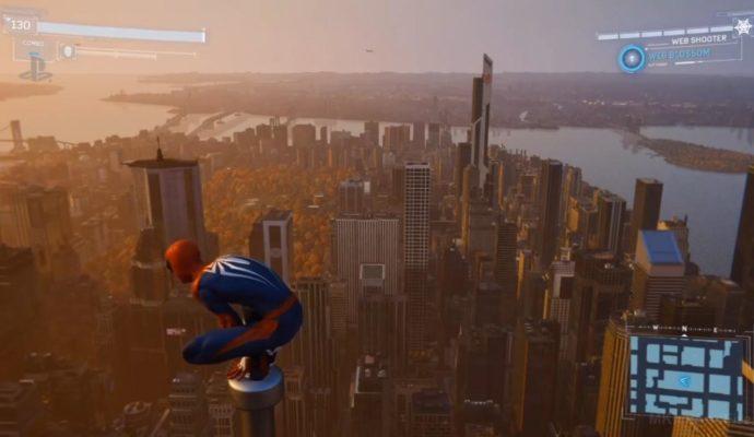 Spider-Man manhattan
