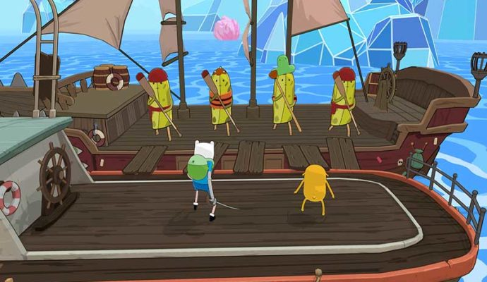 Adventure Time pirates de la terre de ooo pirates