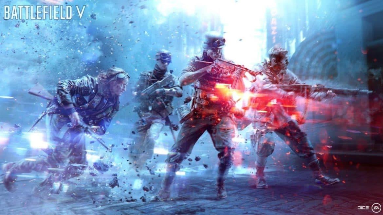 Battlefield V Artwork des soldats