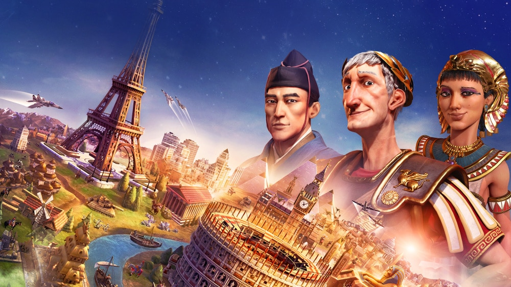 Civilization VI - De Rome à Washington en passant par Pékin
