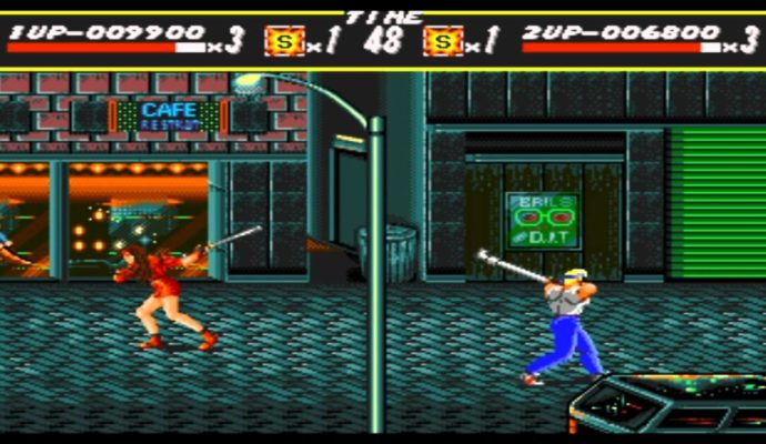 Data Frog Streets of Rage