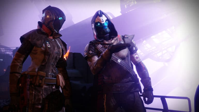 Destiny 2 : Renégats - cayde et la gardienne