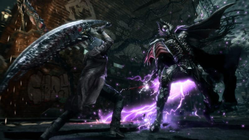 Devil May Cry 5 Dante gameplay